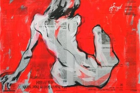 Tranh của họa sỹ Doãn Hoàng Lâm