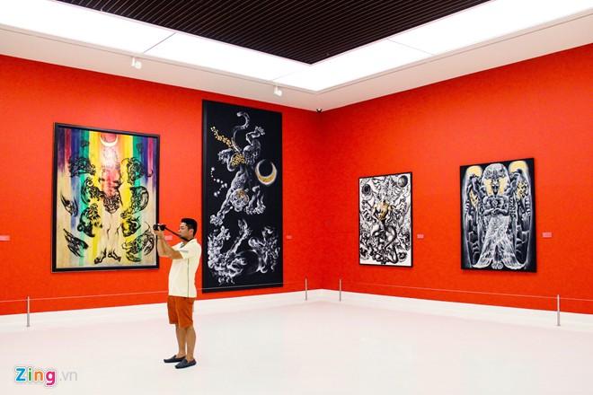 Bên trong bảo tàng nghệ thuật đương đại Bangkok