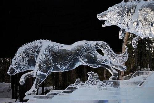 Nghệ thuật điêu khắc tuyệt đẹp trên băng - ảnh 7
