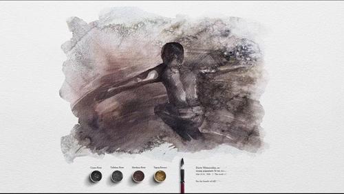 Từ nước thải hóa thành các tác phẩm hội họa ấn tượng - Ảnh 9.